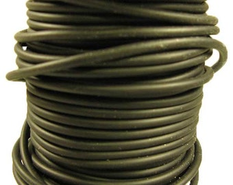 Solid Rubber Cord 3.0mm By the Yard