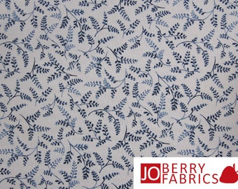 Porcelain Blue Fabric Collection by Fabri-Quilt, Quilt or Craft Fabric, Fabric by the Yard