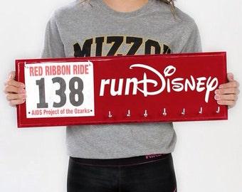 RunDisney race bibs and running medal holder - runDisney race bib & medal display for Disney races
