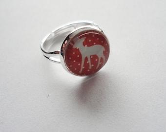 Ring Deer adjustable
