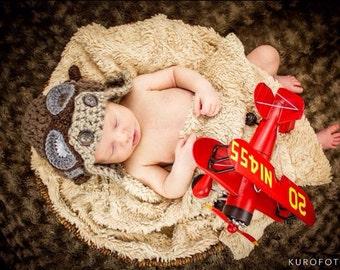 Child's Aviator Hat   Photo Prop