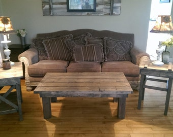 Weathered Table Set