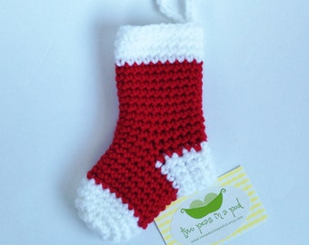 Cutlery Christmas Stocking Knitting Pattern : Garland Tree Garland Christmas Garland by TwoPeasInAPodCo