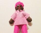 Nurse Damn It Doll, Original Design, nurse stress relief, nurse doll, nurse gift