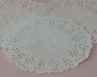 White Paper Doilies - Package of 50