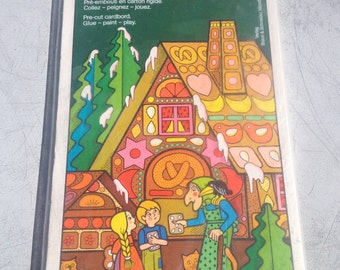 Mid Century Hexenhausl - Mid Century Hansel and Gretel House DYI Color and Assembly