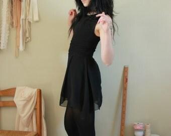 "Black skater dress Dark Fashion ""Lilith"""
