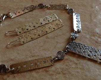 Handmade Sterling Silver Jewelry Set