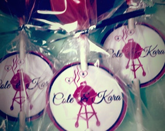 Custom Cake Pop Tags - DOZEN