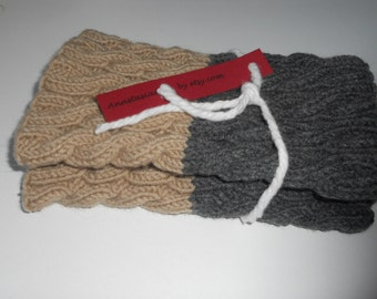 Boot cuffs, leg warmers, 2 in 1, cable knit boot cuffs