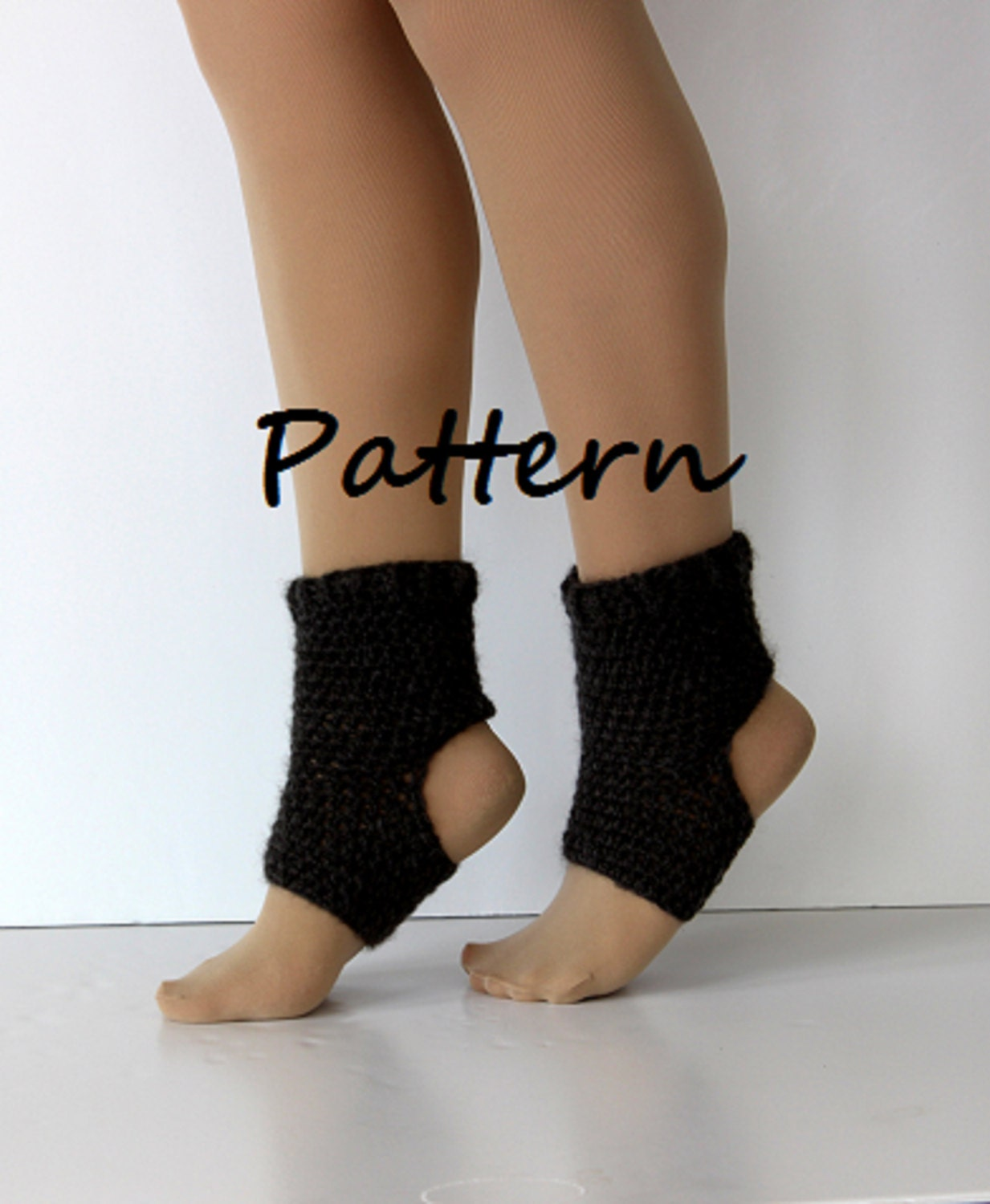 Crochet Pattern Yoga Socks : Yoga sock pattern DIY PDF crochet yoga sock by ...