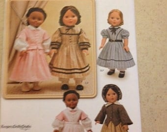 """Simplicity 1391 All American Girl Doll pattern 18"""""""