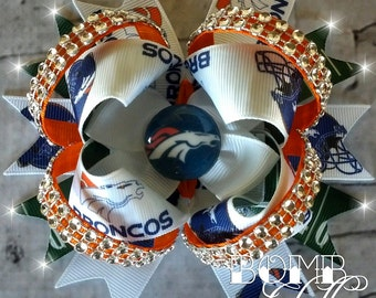 Denver Broncos Bow