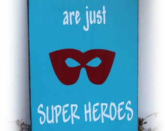 Little Boys Are Just Super Heroes In Disguise