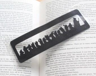 Hobbit Silhouette papercut Bookmark