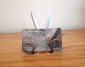 Custom Upcycled Scissor/Thinning Shears Business Card Holder  (Item# BC5)