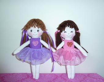 Ballerina dolls pattern