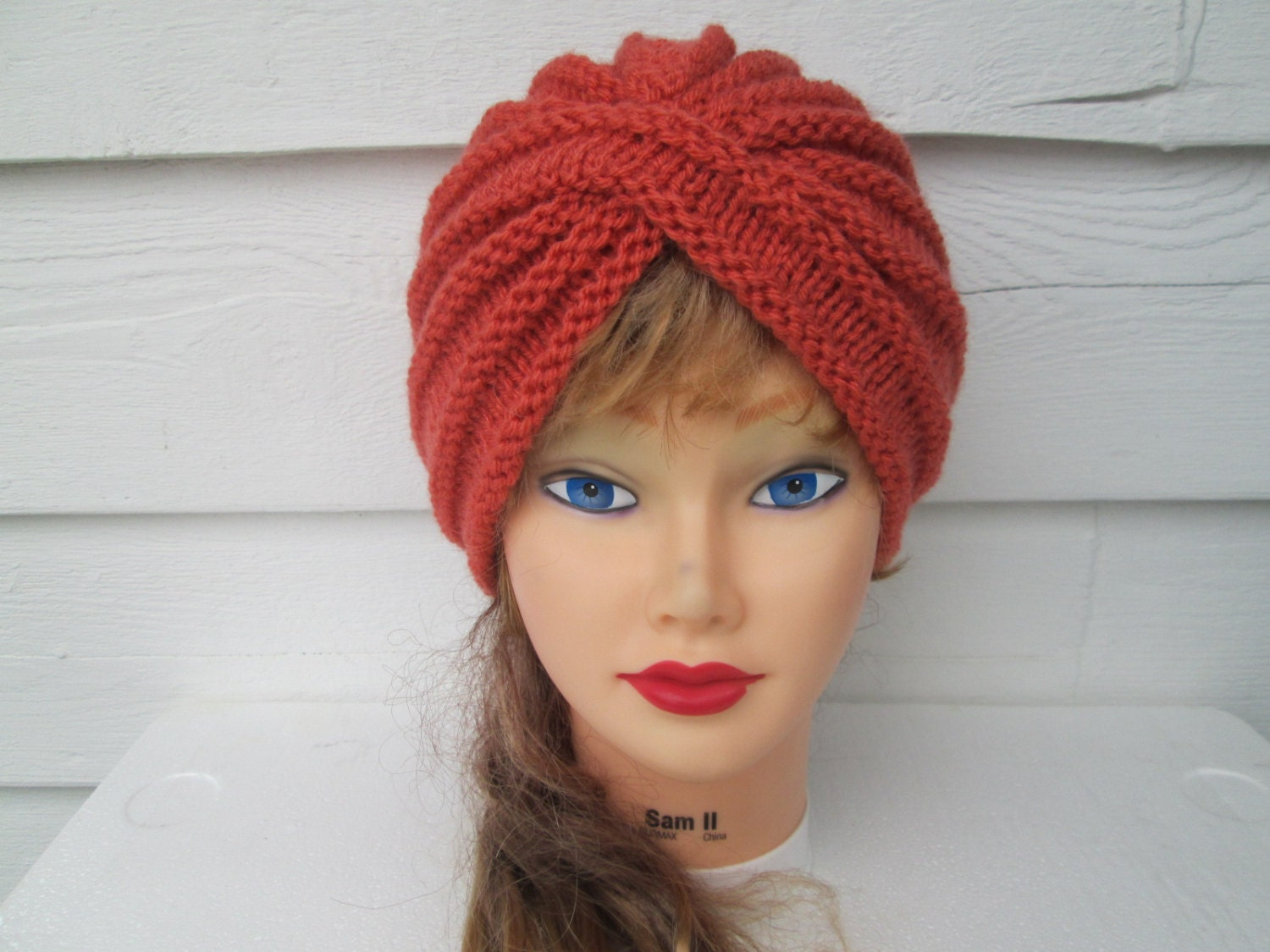 knit turban hat knitted womens winter hats by