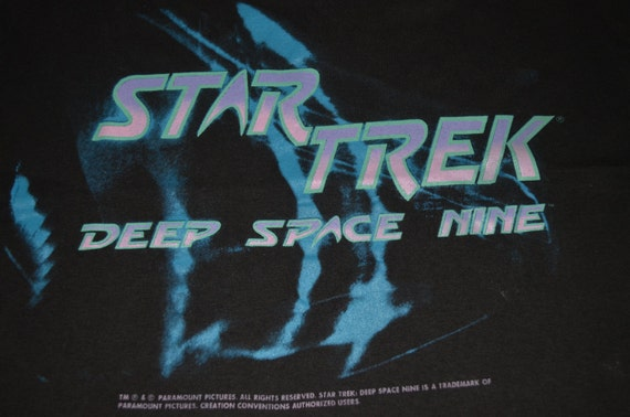 Vintage 90s STAR TREK movie Deep Space Nine film sci fi promo