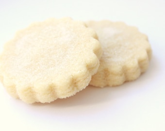 Tradiontal Handmade Scottish Vanilla All Real Butter Baked Fluted Classic Sugar Shortbread Tea Biscuit Cookie Gift Wedding Favor