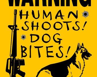 "GERMAN SHEPHERD Dog Sign 9""x12"" ""ALUMINUM"" 3388gshh"