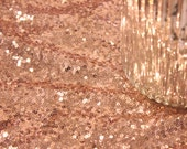 Blush Pink Sequin Table Cloth Champagne Sequin Table Cloth Wholesale Sequin Table Cloths Sequin Linens Pink Sequin Gold Sequin Silver Sequin