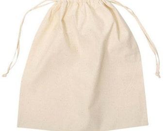 "40 Muslin Bags Small 3"" x 5"""