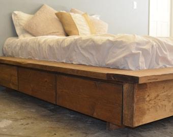 Platform Bed with Drawer Storage-La Plata