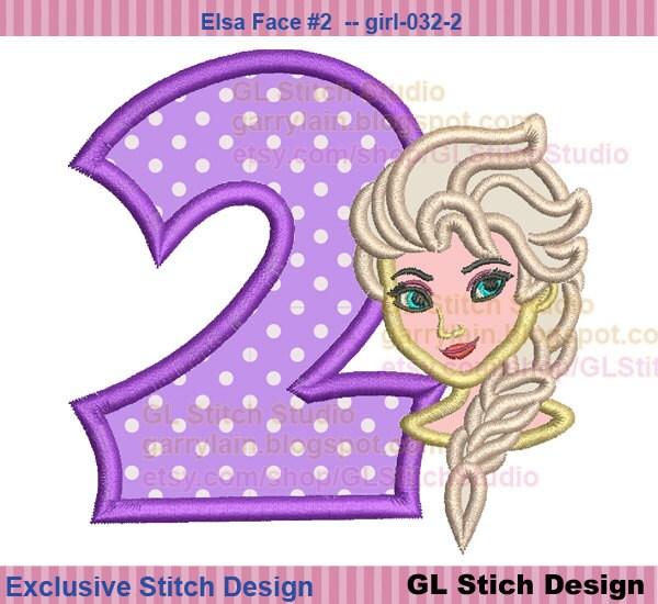 Queen elsa embroidery design frozen cold nd by glstitchstudio