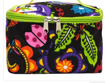Lady Bugs Town™Print Cosmetic Case