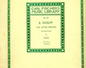 1907 Piano Student Lesson Book