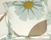 Pretty English Lavender Sleep Pillow & Sachet Set Orla Kiely  Rhododendron  Pattern Fabric.