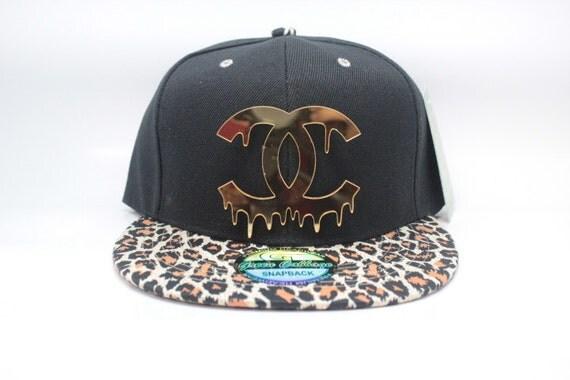 custom fashion leopard snapback hat cap