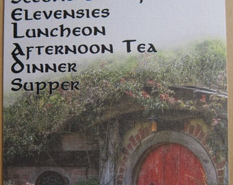 Lord of the Rings - Hobbit Mealtimes Postcard