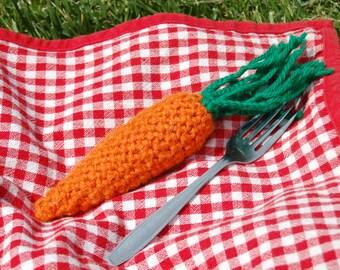 Crochet Toy Carrot for Children