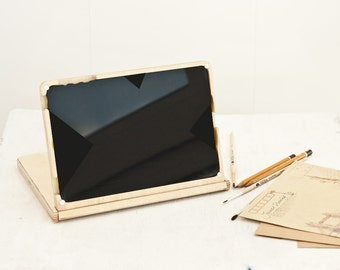 Apple accessories, Wooden case,  ipad mini case,  tablet case, ipad mini wood, Ipad mini case, Tablet stand, wood ipad case, Apple ipad