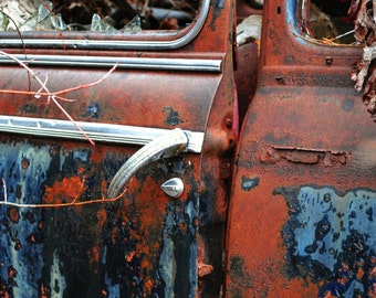 Rusty Chevy 1 digital 8x10print