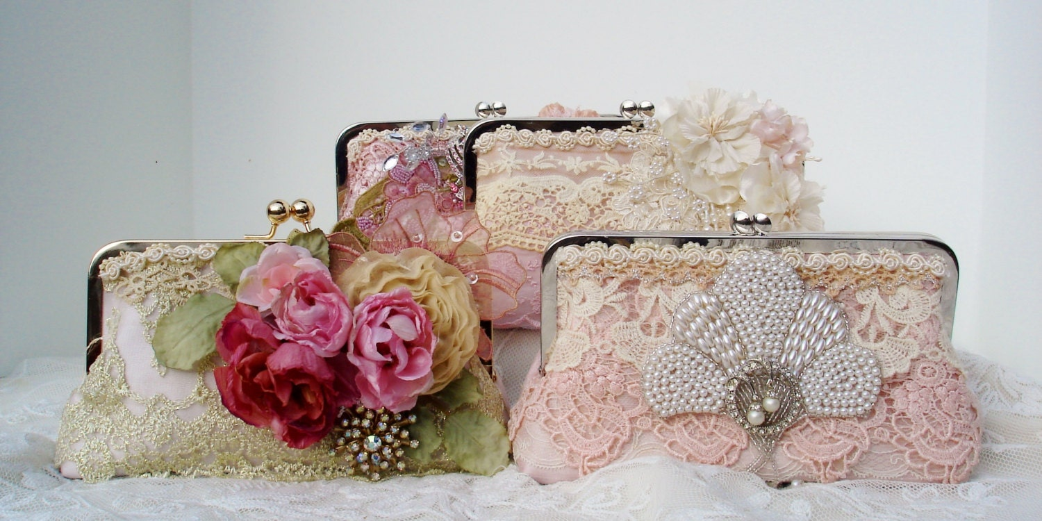 Retro Wedding Gifts: Wedding Clutch / Gatsby / Bridesmaid Gift / Vintage Wedding