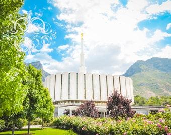 Provo, Utah LDS Mormon Temple