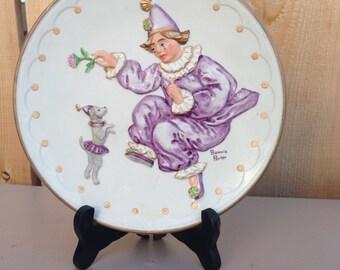 Bonnie Porter Porcelain dish (Clown)