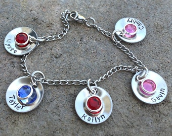 Mothers/Grandmothers Bracelet for Growing and Finished Families