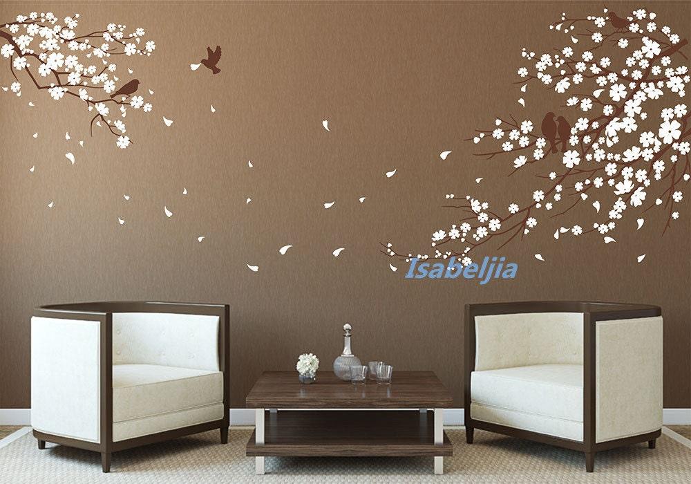 autocollant autocollant fleur de cerisier wall par isabeljia. Black Bedroom Furniture Sets. Home Design Ideas