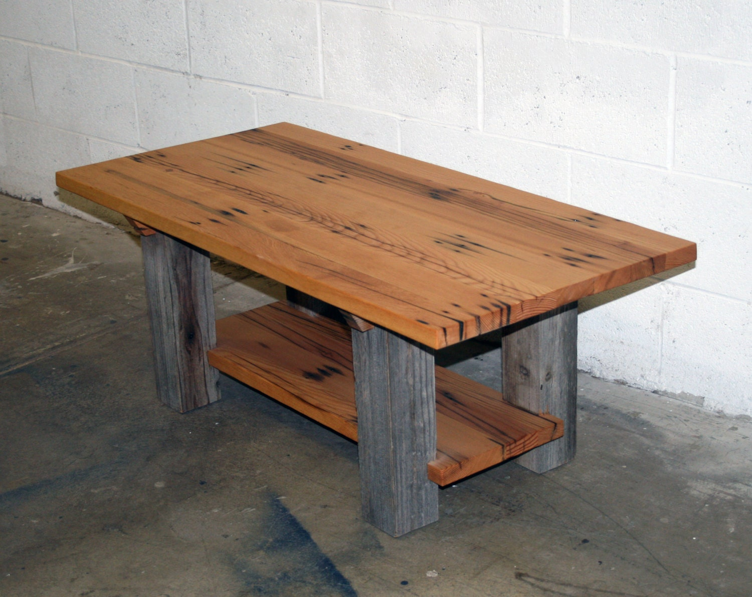 Reclaimed Fir And Barn Wood Coffee Table 42 By Lunarcanyon