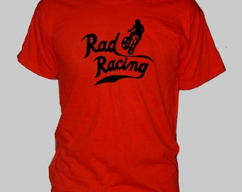 RAD Racing - Cru Jones BMX Classic Movie retro 80's t-shirt tee shirt short or long sleeve your choice! all sizes many colors