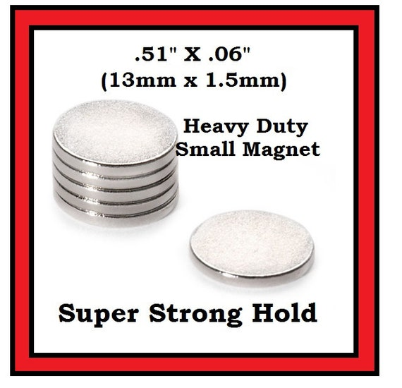 Super strong small magnets pack of 6 thin but wicked strong for Super strong magnets for crafts