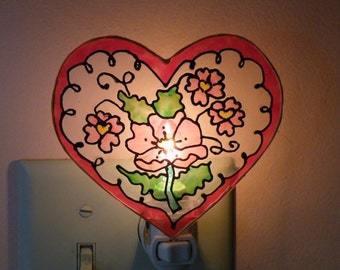 Valentine Night Light