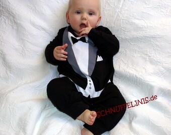 tuxedo onesie + tuxedo shoes - SUPER DEAL - Tuxedo Romper+shoes for Formal props, 1st birthsday dress - infant tuxedo, wedding