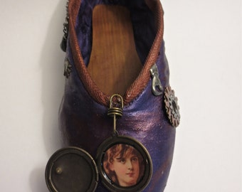 SteamPunk -Decorated Pointe Shoe