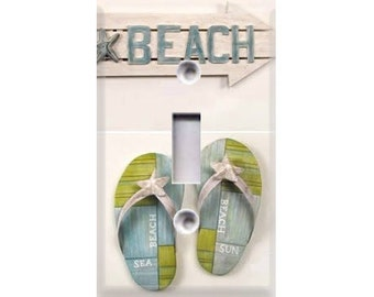 Beach Sandals Light Switch Cover