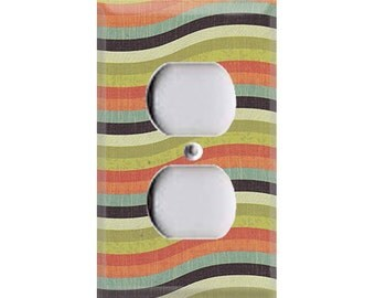 Tiny Woods Collection - Waves Outlet Cover